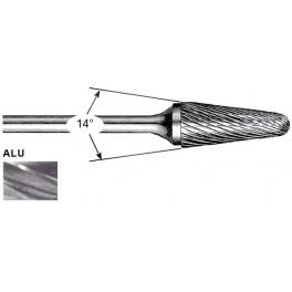 Fraise Lime rotative cylindrique ALU